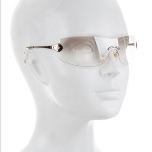Vintage Christian Dior Absolute Shield Sunglasses